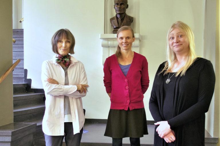Anneli Jussila, Anni Kytömäki ja Jennah Vainio